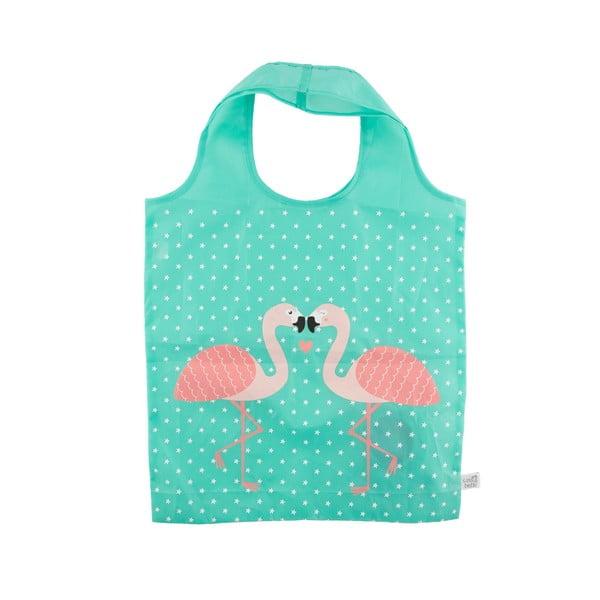 Sacoșă pentru cumpărături Sass & Belle Tropical Flamingo