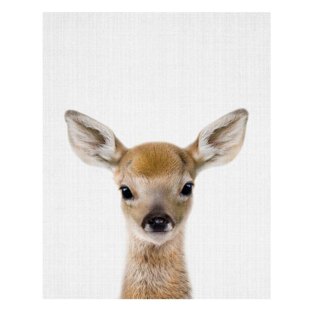 Plakát Blue-Shaker Baby Animals Deer, 30 x 40 cm