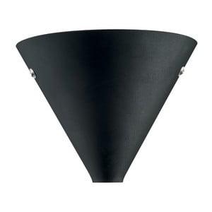Nástěnné světlo Coctail Black, 20x17 cm