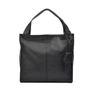 Černá kožená kabelka Renata Corsi Camila