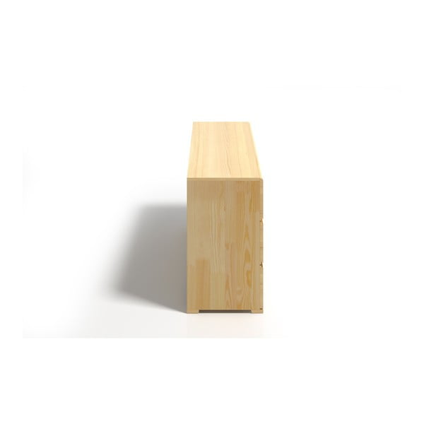 Comodă din lemn de pin cu 3 sertare SKANDICA Vestre