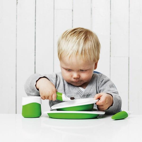 Dětský jídelní set Toddler, oranžový