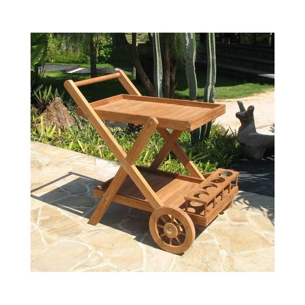 Servírovací stolek z teakového dřeva Santiago Pons Troll