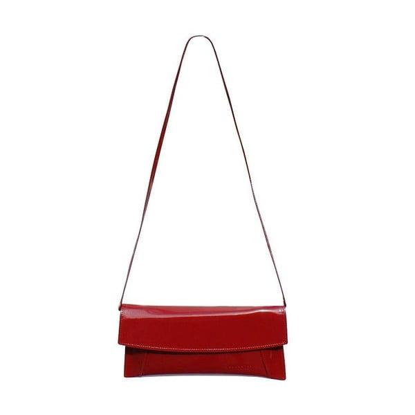 Kožená kabelka/psaníčko Boscollo Red 2269