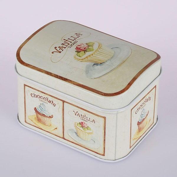 Plechová dóza Vanilla Cupcake