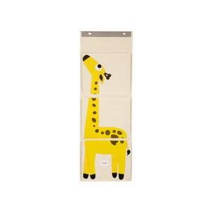 Organizér na zeď 3 Sprouts se žirafou