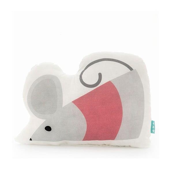 Bavlněný polštářek Mr. Fox Mouse, 40x30cm