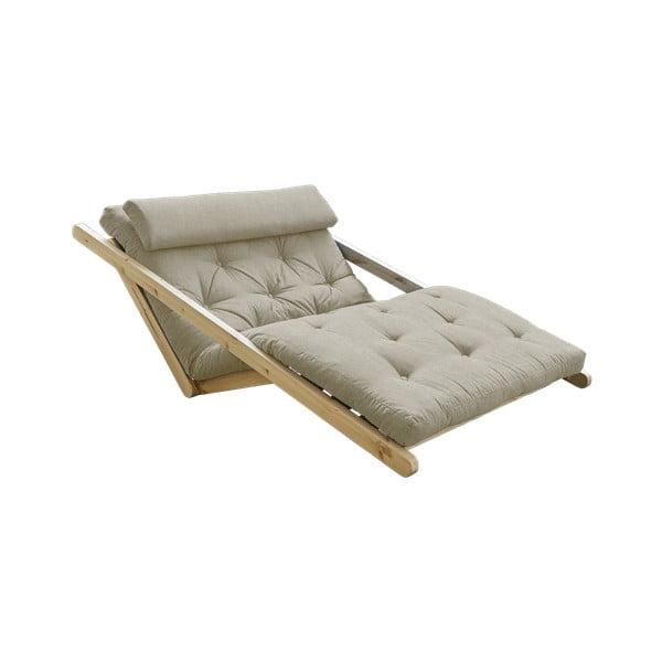 Canapea extensibilă Karup Design Figo Natural, gri - bej