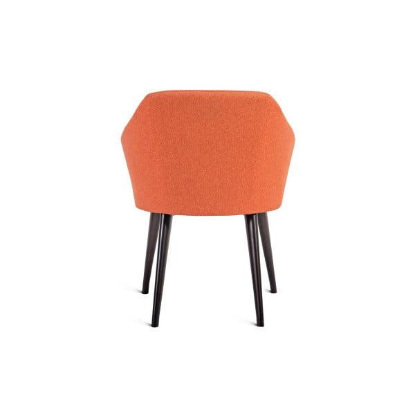 Oranžová židle Charlie Pommier S