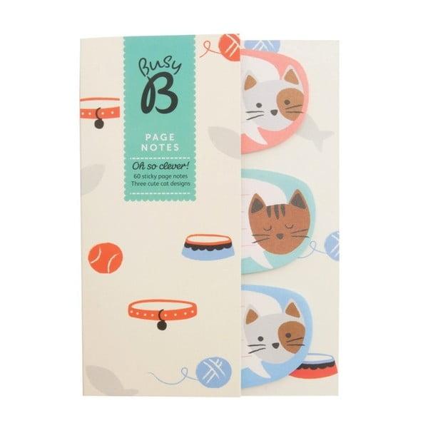 Mini zápisník Busy B Cat s tužkou