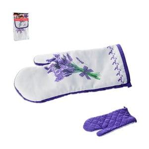 Bavlněná kuchyňská rukavice Orion Levandule