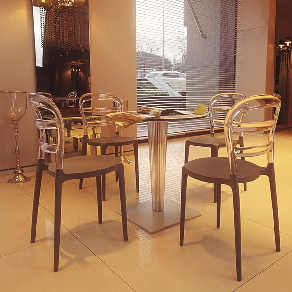 Židle MIss Bibi Black/Amber