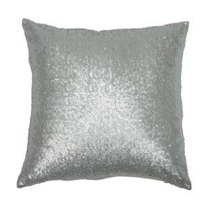 Polštář Sequin Silver, 40x40 cm