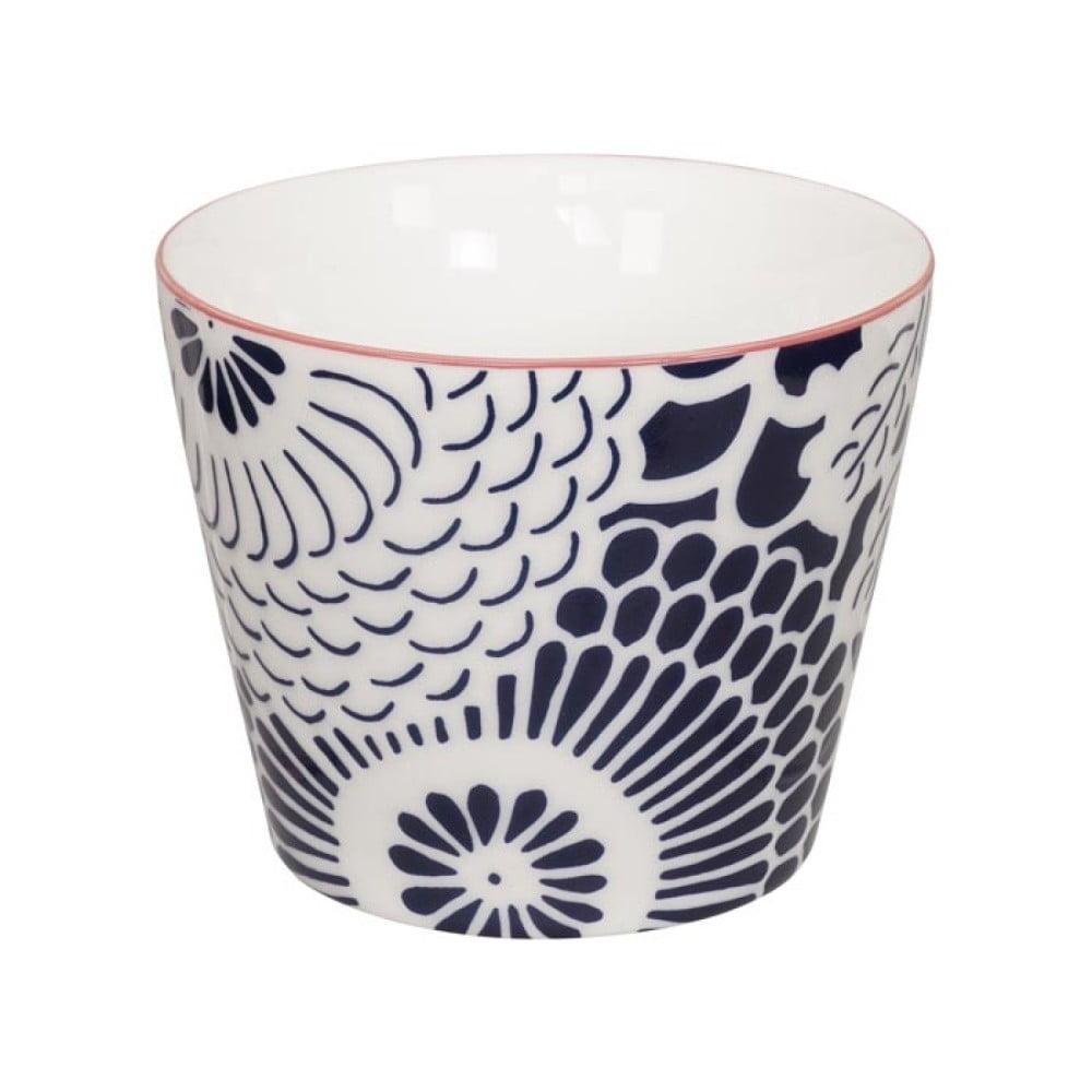 Modro-bílý porcelánový hrnek Tokyo Design Studio Shiki, 180 ml