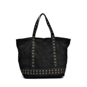 Černá kožená kabelka Luisa Vannini Frinto