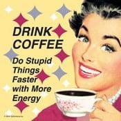 Set 6 tácků Drink Coffee