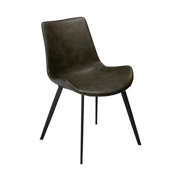 Zelená jídelní židle z eko kůže DAN–FORM Denmark Hype