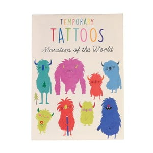 Set 2 coli cu tatuaje Rex London Monsters Of The World