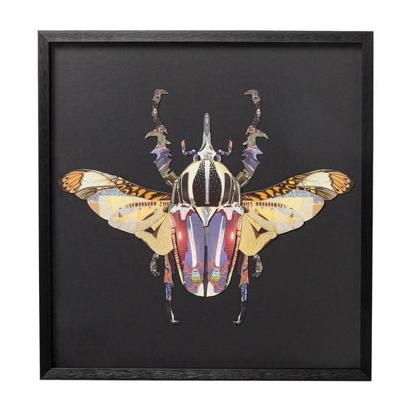 Zarámovaný obraz Kare Design Beetle, 60x60cm