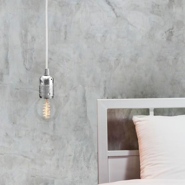 Stříbrnobílý závěsný kabel Bulb Attack Uno