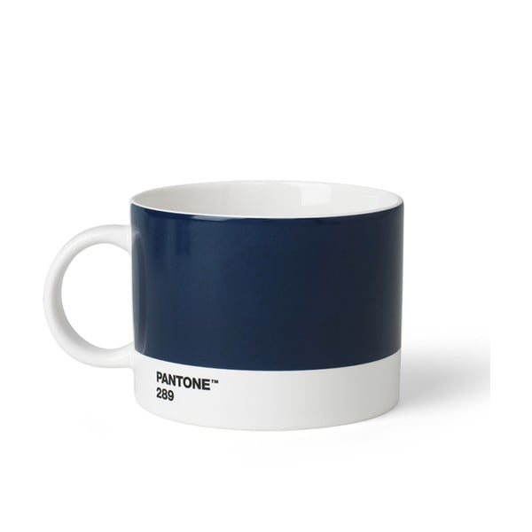 Tmavě modrý hrnek na čaj Pantone, 475 ml