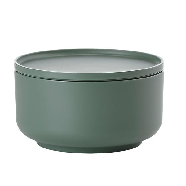 Zelená servírovací miska s víkem Zone Peili Greo, 1 l