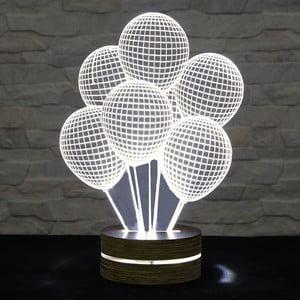 3D stolní lampa Ballons