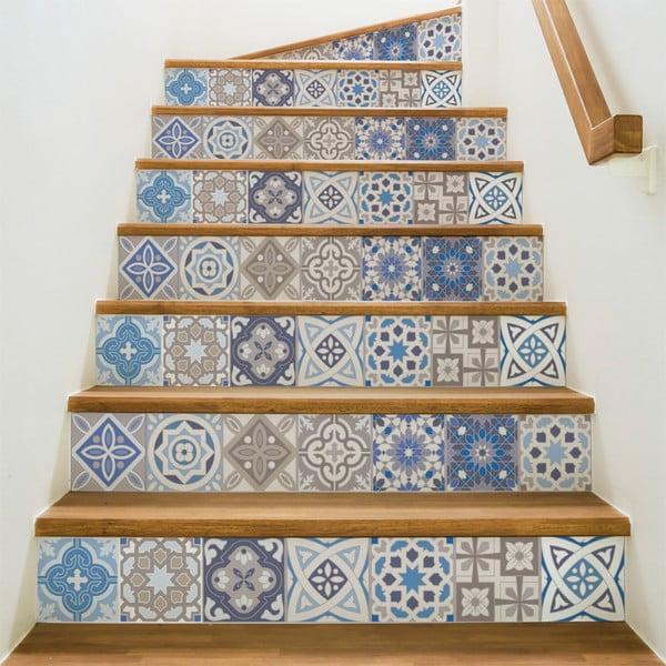 Komplet 2 naklejek na schody Ambiance Honduras, 105x15 cm