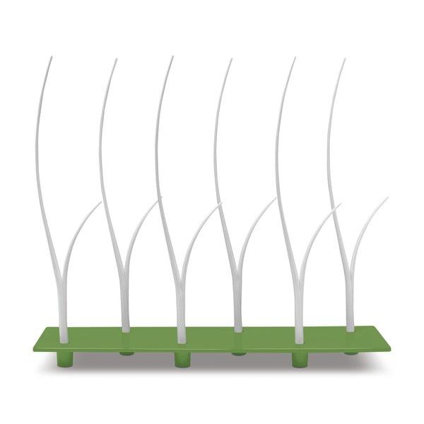 Zelená sada tácu a hůlek na jednohubky Entity