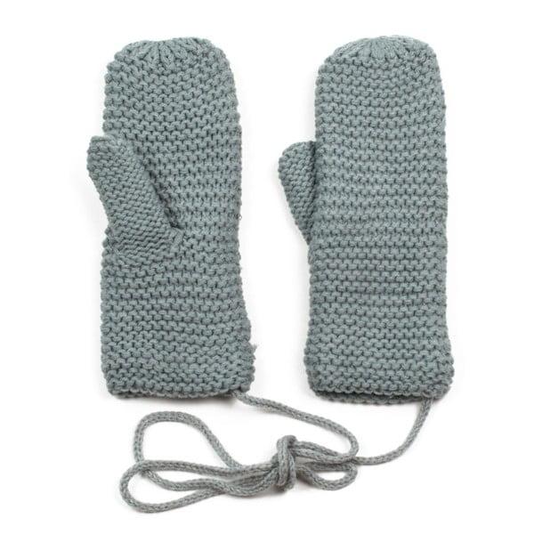 Šedé rukavice Ava