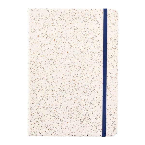 Béžový zápisník o formátu A5 Busy B, 96 stran