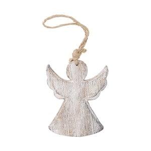 Závěsný dřevěný anděl Ego dekor, výška13cm