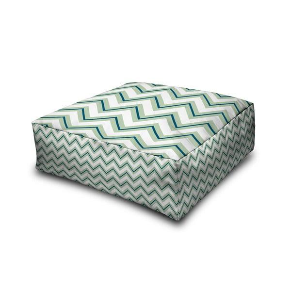 Puf Margao Geometric Green