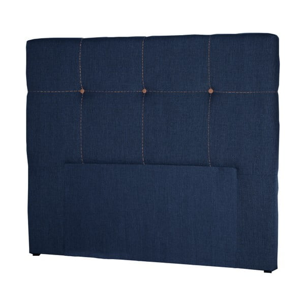 Tmavě modré čelo postele Stella Cadente Maison Cosmos, 180x118 cm