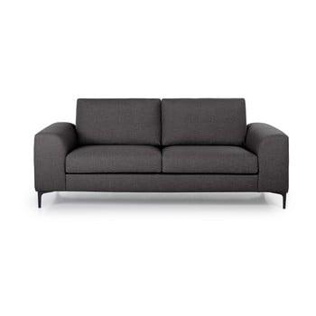 Canapea cu 2 locuri Softnord Henry gri antracit