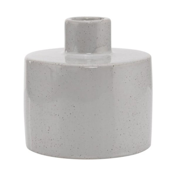 Kameninový svícen A Simple Mess Ortona Glacier Grey, ⌀9 cm