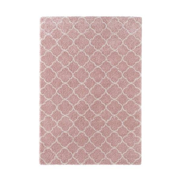 Růžový koberec Mint Rugs Grace, 160x230cm