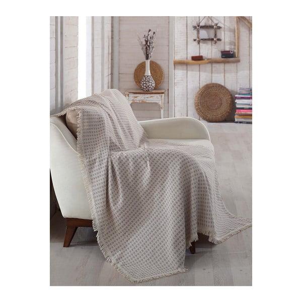 Deka z organickej bavlny Ofossas, 180 x 230 cm