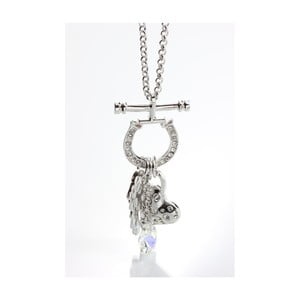 Colier Swarovski Elements Laura Bruni Love On Lock
