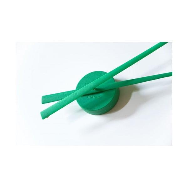 Hodiny Oj 80 cm, zelené