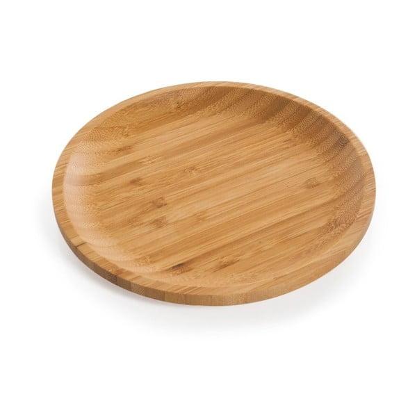 Bambusový talíř Bambum Penne, ⌀ 20 cm