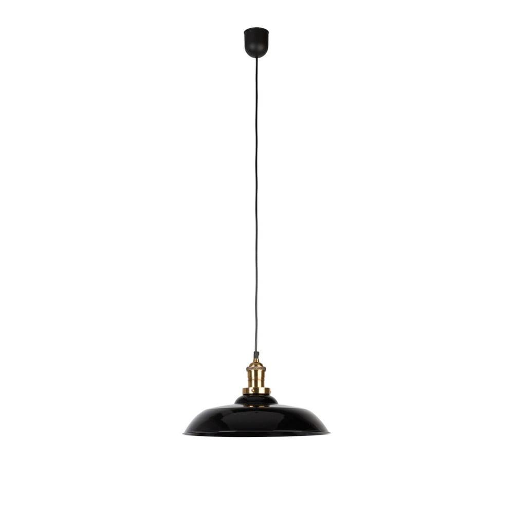 Černé závěsné svítidlo Dutchbone Core