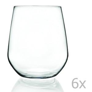 Sada 6 sklenic RCR Cristalleria Italiana Calandra