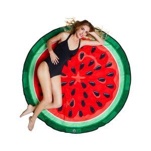 Pătură pentru plajă în formă de pepene roșu Big Mouth Inc., ⌀ 152 cm