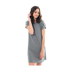 Šedé šaty Lull Loungewear Saint Jean, vel.L