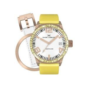 Dámské hodinky Marc Coblen s páskem a kroužkem navíc P26