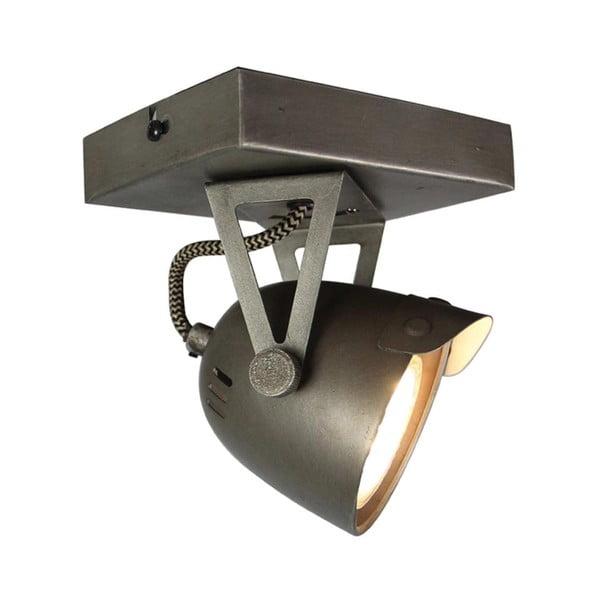 Šedé nnástěnné svítidlo LABEL51 Spot Moto Cap Uno