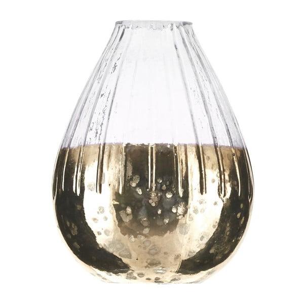 Váza Dipdye Brass, 10x13 cm