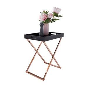 Skládací odkládací stolek s odnímatelnou deskou Skyport MICHELLE