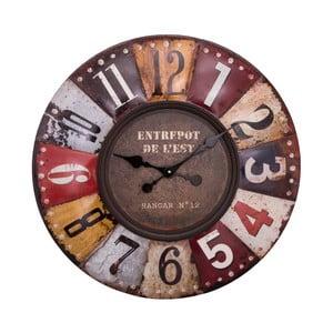 Nástěnné hodiny Antic Line Pendule Multicolore, ⌀ 70 cm